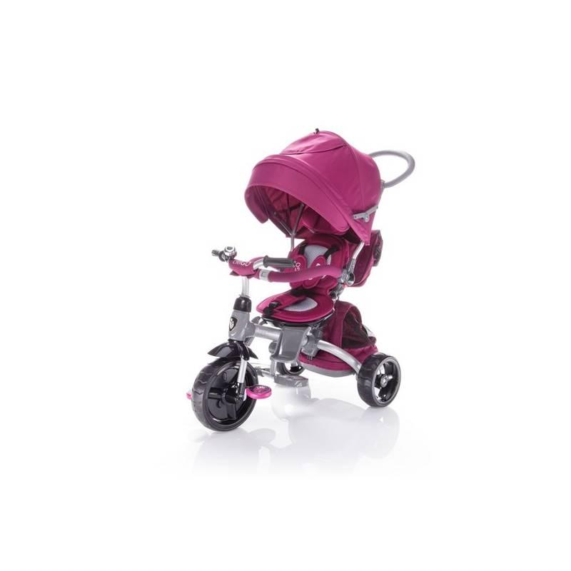 Zopa trojkolka CitiGO 6v1 T500 Mulberry Pink
