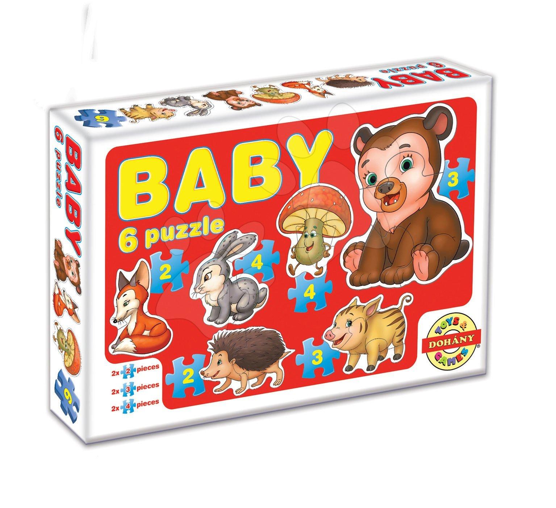 Dohány Baby Puzzle - Zvieratká