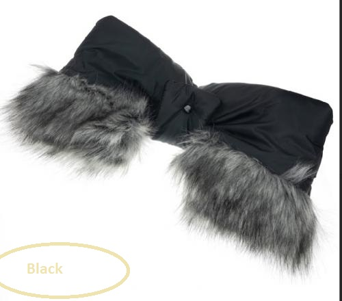 Rukávnik Gimme Five - Mufka - Black