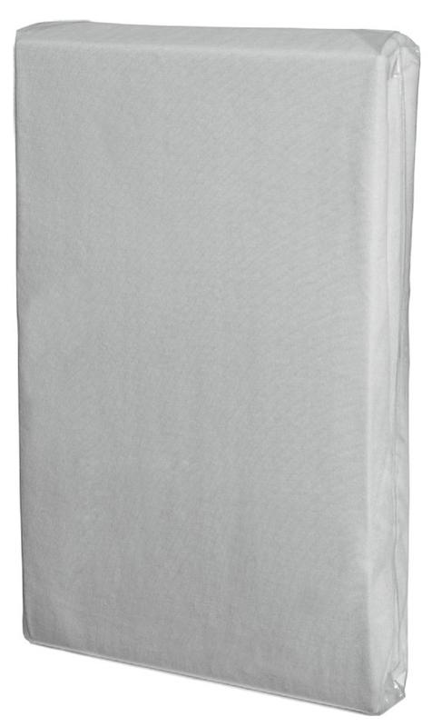 Bavlnená plachta do postieľky Fillikid - biela