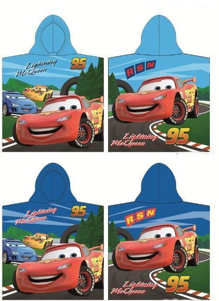 Disney Pončó Cars