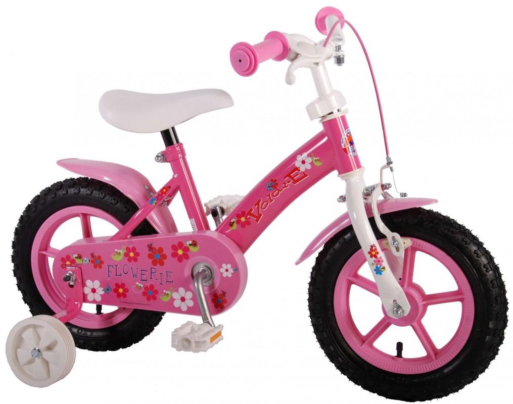 VOLARE - Detský bicykel , Flowerie 12 , Pink