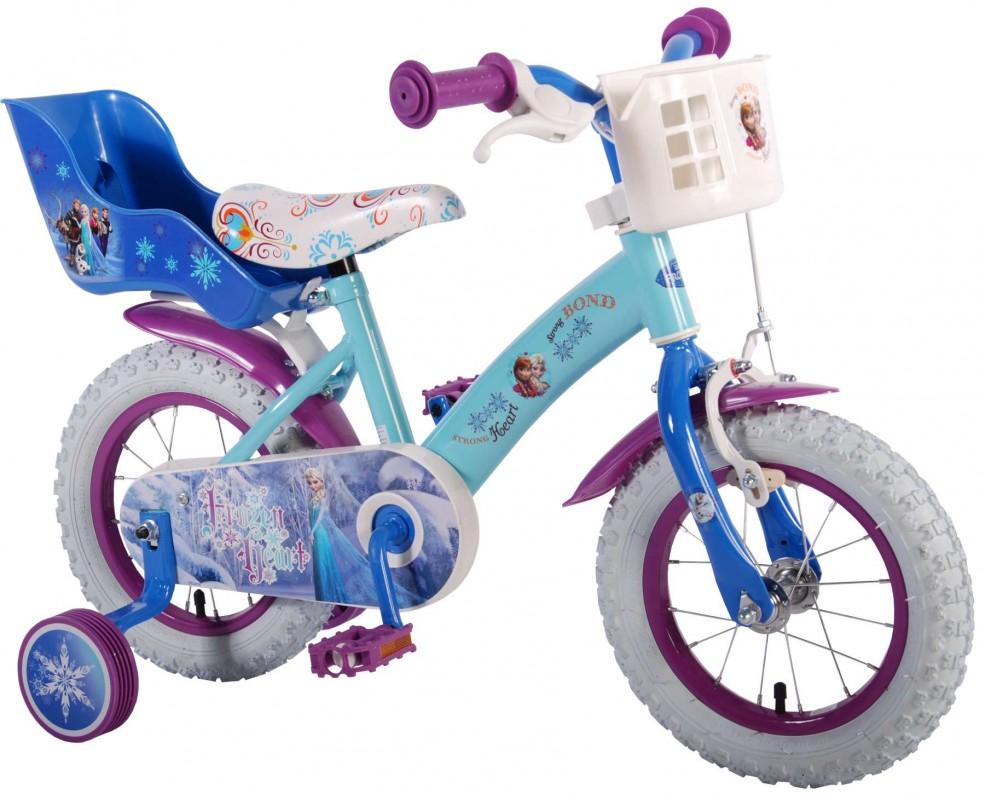 VOLARE - Detský bicykel , Frozen 12  Banana, Blue