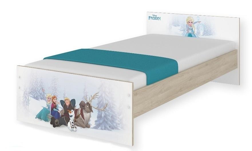 Detská junior posteľ Disney 180x90cm - Frozen