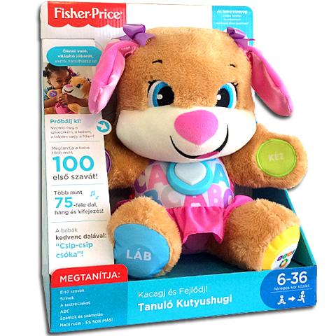 Fisher price hovoriací psík - dievčatko