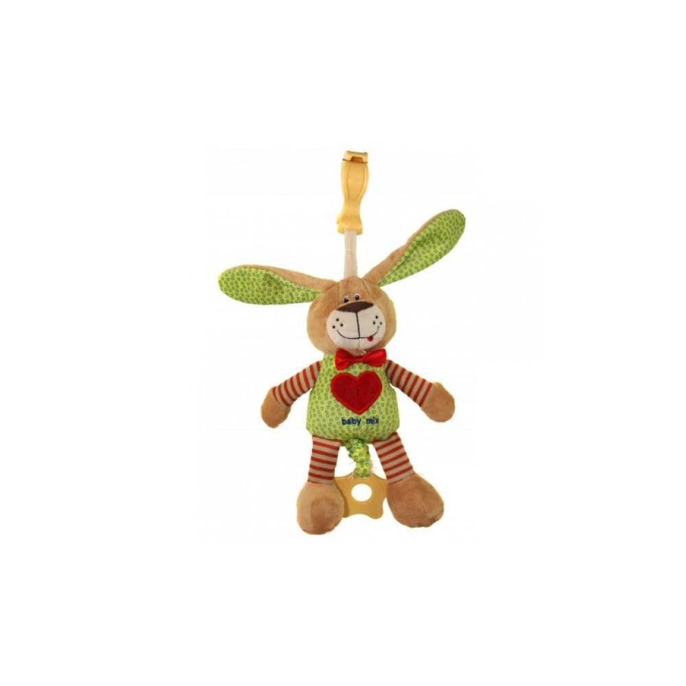 Baby Mix Detská plyšová hračka s hracím strojčekom 16395