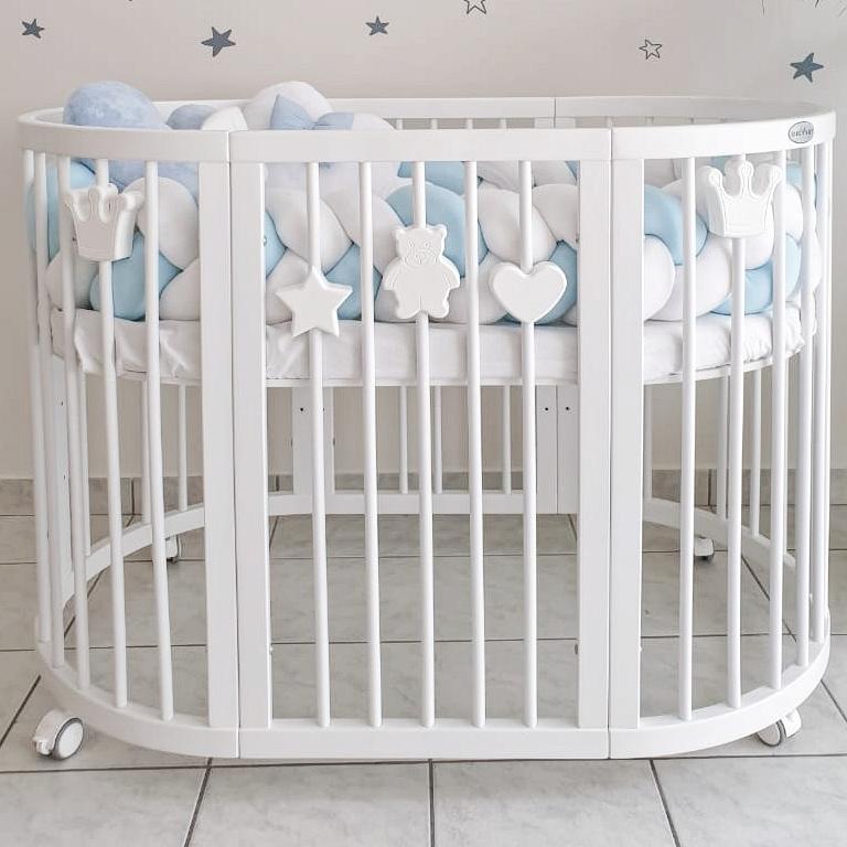 Magnetické dekorácie pre detské postieľky SMART BED