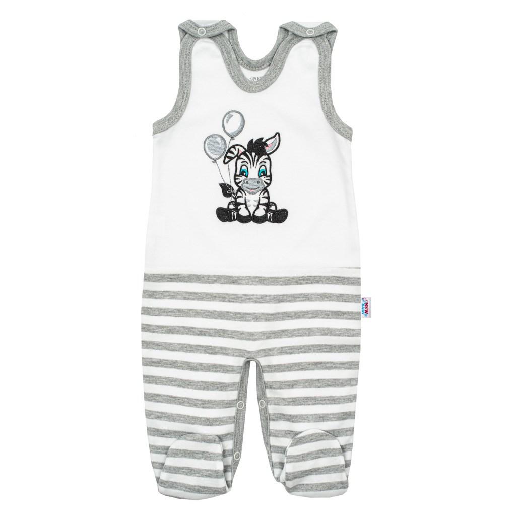 Dojčenské bavlnené dupačky New Baby Zebra exclusive 56
