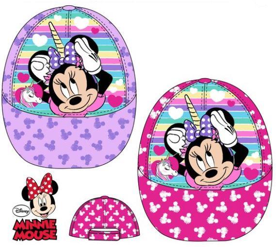 Disney Detská šiltovka Minnie Mouse fialová