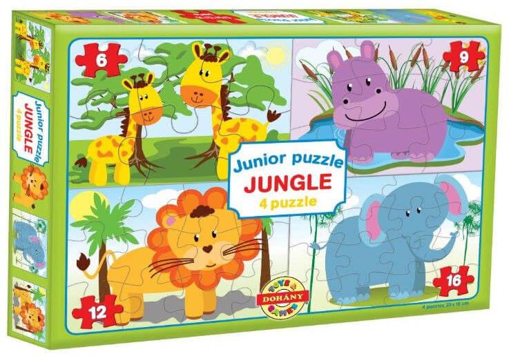 Dohány Junior puzzle skladačka Africké zvieratá
