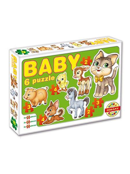 Dohány Baby Puzzle - Domáce zvieratká