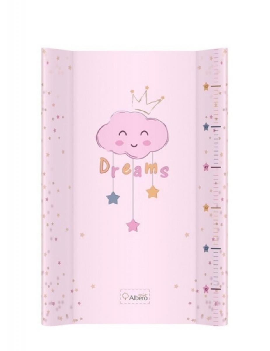Albero Mio Prebaľovacia podložka Dreams ružová
