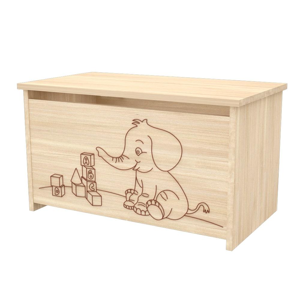 Nikoleta drevený box na hračky