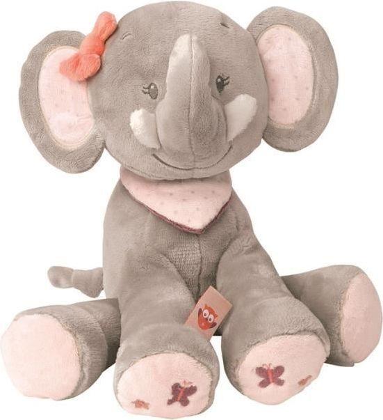 Nattou Adele & Valentine - plyšák slon Adele