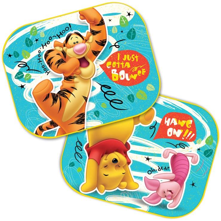 Tienidlá do auta Disney Winnie the Pooh 2ks