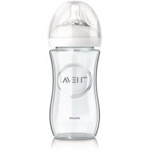 Avent fľaša 240ml Natural SKLO