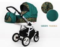 Raf-pol kombinovaný kočík Alu Way  Green Marble