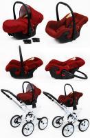 Raf-pol retro kočík Rosso 2020