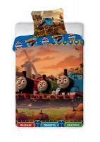 Disney Detské obliečky Mašinka Tomáš 021