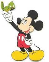Marko Samolepky na stenu Mickey Mouse