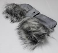 Rukávnik Gimme Five - Mufka - light grey