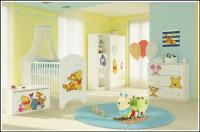 BabyBoo Detská postieľka Disney Medvedik PÚ Baby - 120x60cm