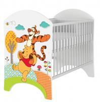 BabyBoo Detská postieľka Disney Medvedik PÚ a Tygrík - 120x60cm