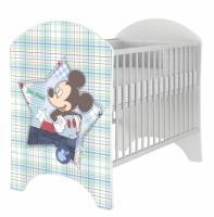 BabyBoo Detská postieľka Disney Baby Mickey - 120x60cm
