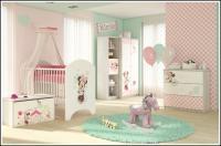 BabyBoo Detská postieľka detská Minnie - 120x60cm
