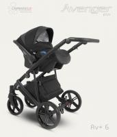 Camarelo kombinovaný kočík Avenger Plus 2021