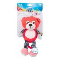 68053 cor-plysova-hraci-skrinka-medvidci-cervena