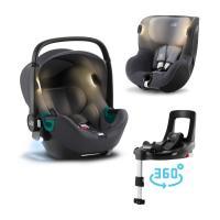 Britax-Römer Set autosedačka Baby-Safe iSense+Báze FLEX BASE Isense+autosedačka DUALFIX iSense 2021