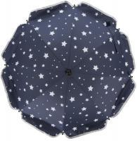 SLNEČNÍK okruhlý Stars - Fillikid modrý + hviezdičky