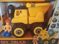 DIY! Urob si sám! nákladné vozidlo so skrutkovačom