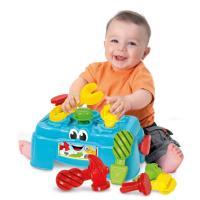 Clementoni Baby pracovný ponk s 3 pracovnými nástrojmi