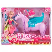Glitzeez Fairy Doll bábika s koňom