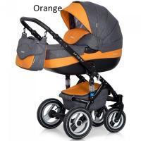 Riko kombinovaný kočík Brano  Orange