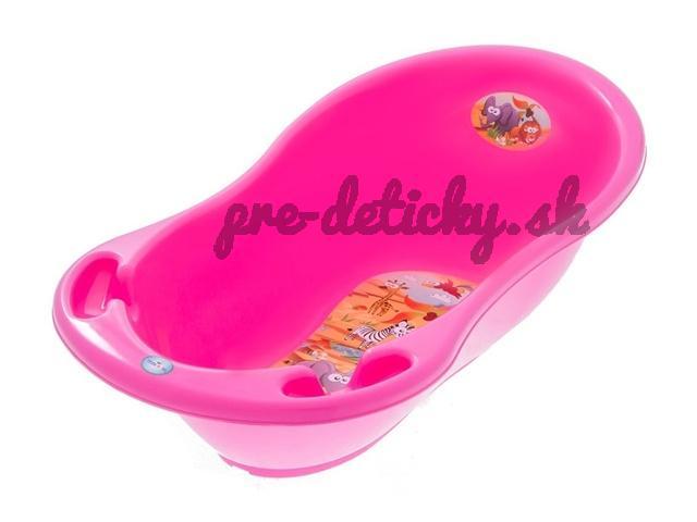 Vanička SAFARI 86 cm - TEGA BABY - ružová
