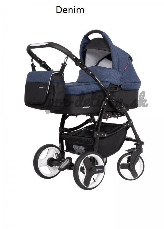 Euro-Cart kombinovaný kočík Passo Sport 2019