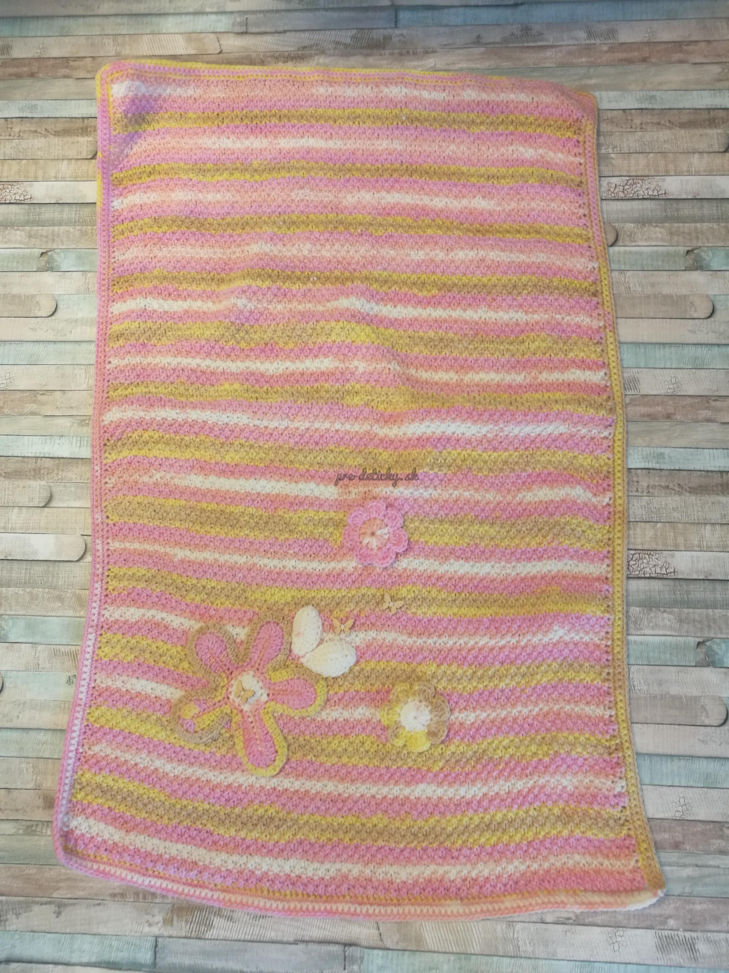 Handmade deka 60x90 cm