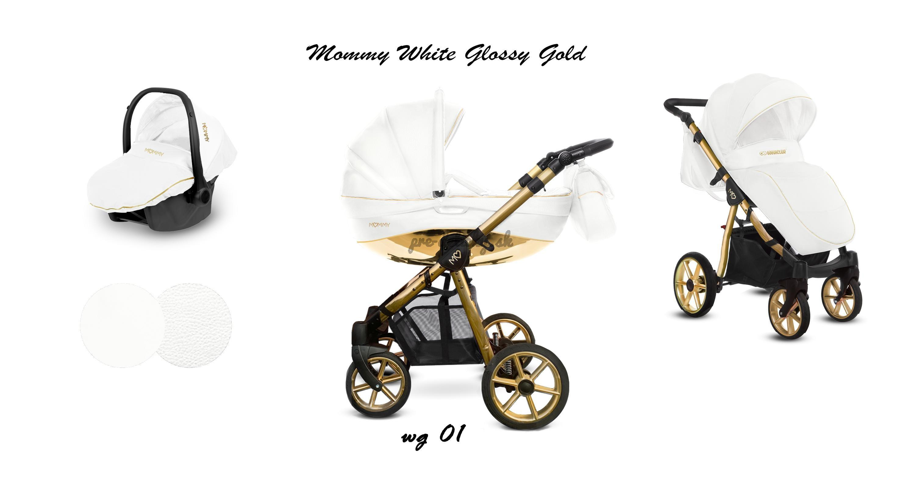 Baby Active Mommy Glossy White