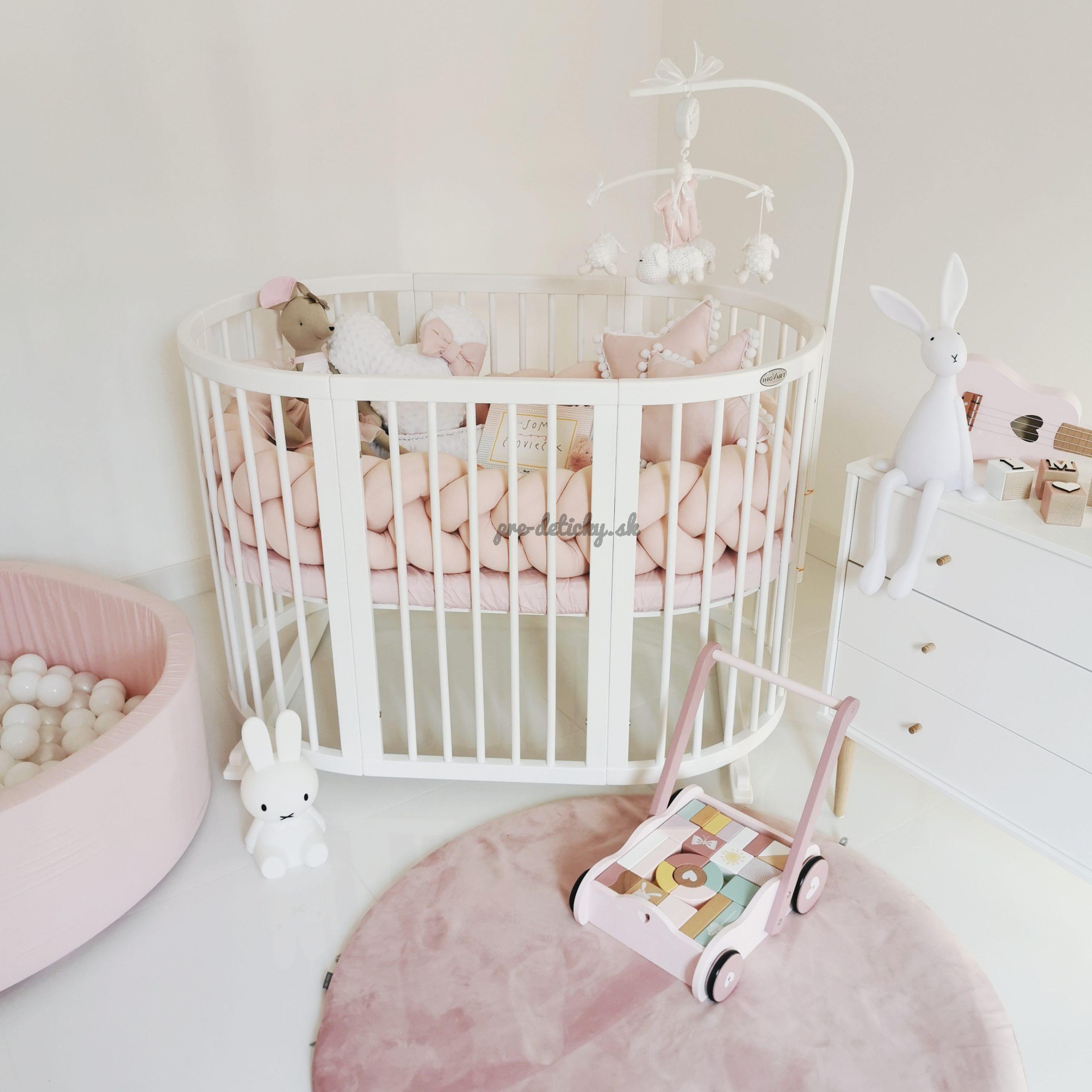 Detská rastúca postieľka SMART BED 9v1