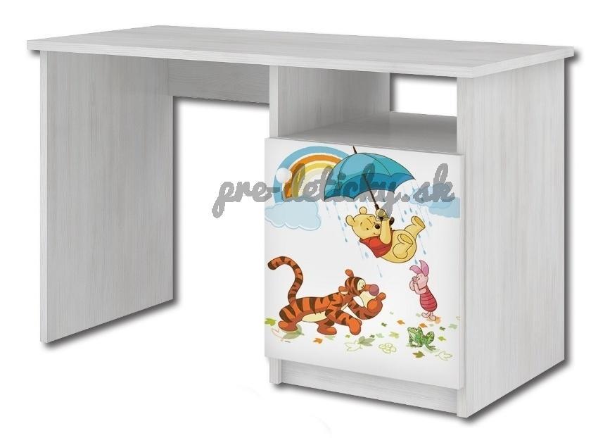 Babyboo Písací stôl Macko Pu, 70x100x55 cm