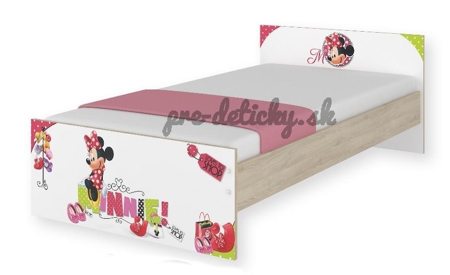 BabyBoo Detská junior posteľ Disney 180x90cm - Minnie