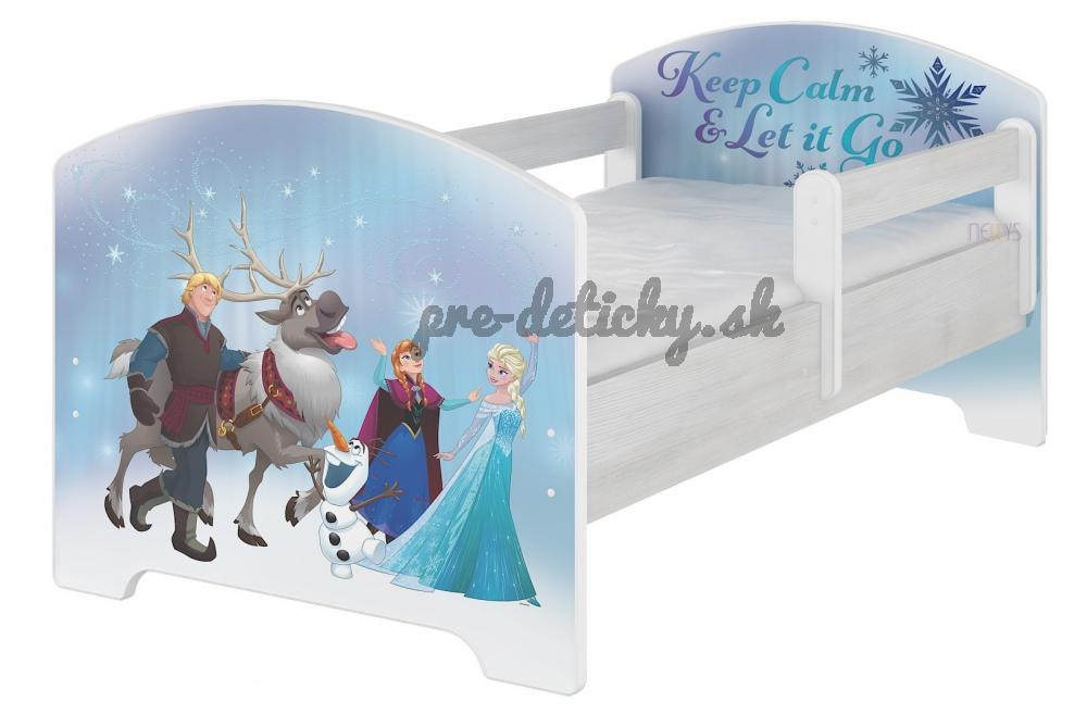 BabyBoo Detská posteľ Disney - FROZEN