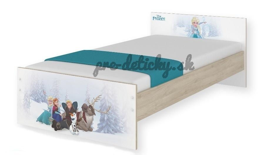 BabyBoo Detská junior posteľ Disney 180x90cm - Frozen