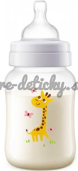 AVENT Anti-colic 260 ml – žirafa