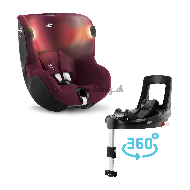 Britax-Römer Dualfix iSense Bundle Flex iSense 2021