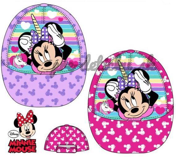 Disney Detská šiltovka Minnie Mouse ružová