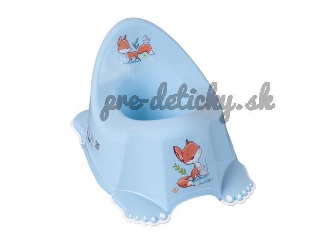 Tega Baby nočník s protišmykom Líška modrá